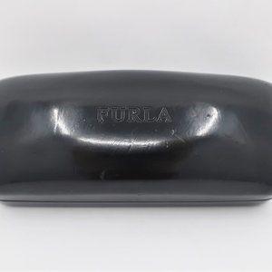 Furla Black Glasses Case